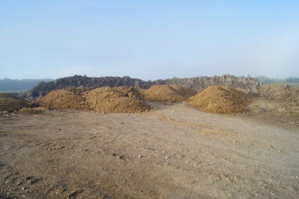 Kiesgewinnung und Bodenaushubdeponie der Firma Gebr. Haider in Ennsdorf